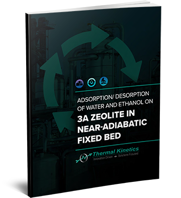 adsorption desorption of water and ethanol on 3A zeolite in near-adiabatic fixed bed eBook 3D cover