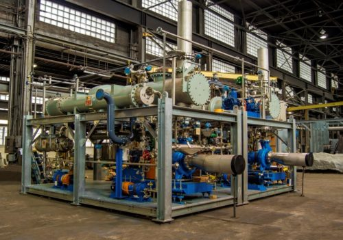 Specialized Concentration System for chemical industry