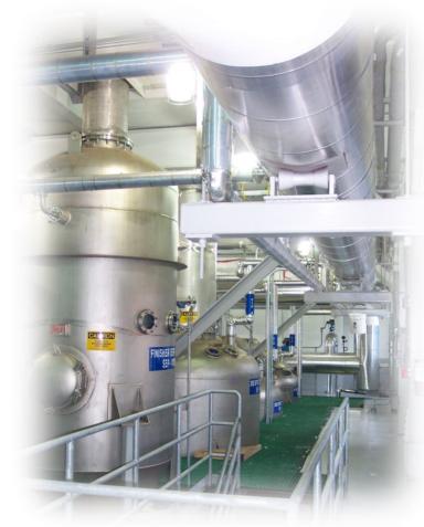 Gelatine Evaporation System