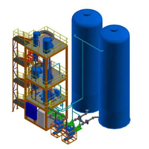 Heavy Oil Scrubbing 3D Systems